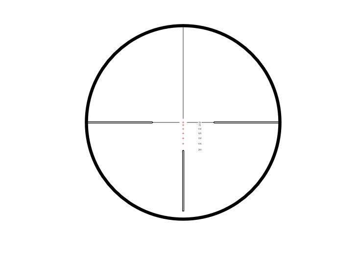 Hawke Vantage 3-9×40 Rimfire .22 HV (1.260fps) IR