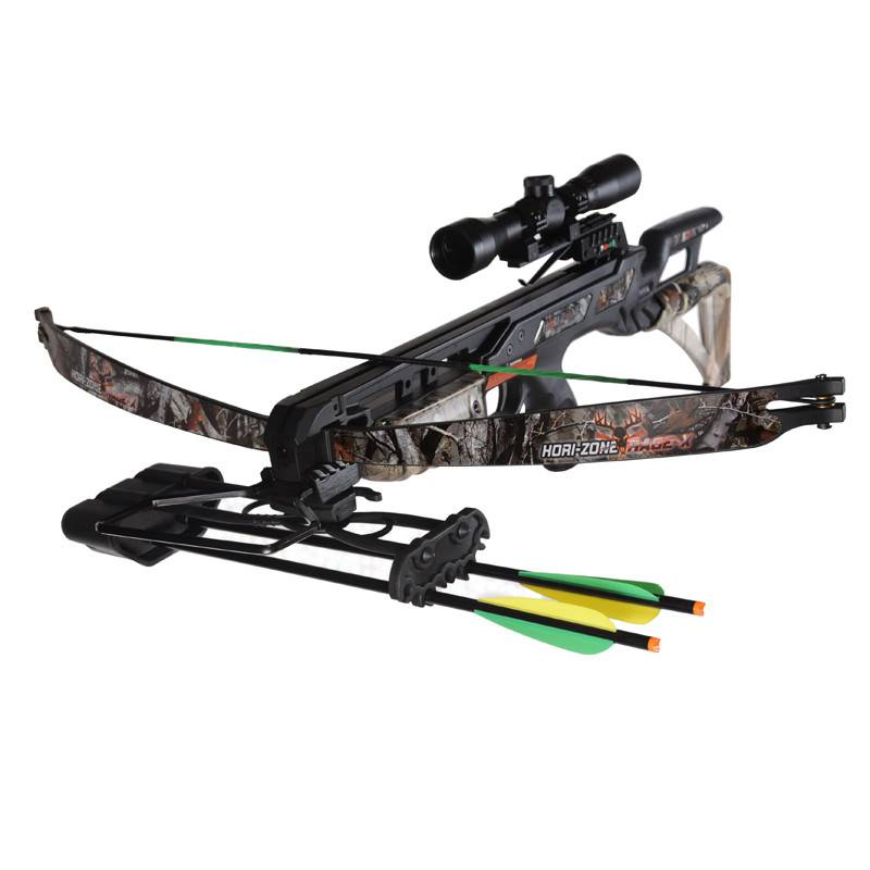 JVD  Hori-Zone Crossbow Package Deluxe Rage-X