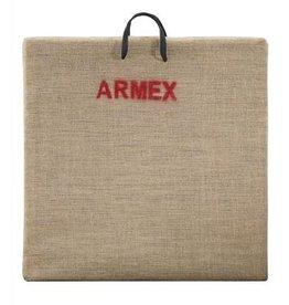 Armex Straw Target mat  - 60 x 60 cm