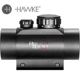 Hawke Green/Red Dot 1x30  w/22mm Weaver Rail