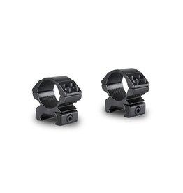 """Hawke 1""""/25 mm Scope Match Montagerings - Low Profile - Weaver"""