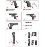 H&K VP9 Tactical GBB - 1,0 Joule - black