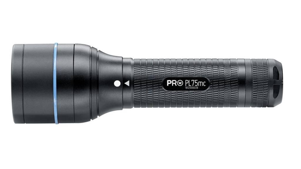 Walther Pro Flashlight PL75 MC - Multicolor - 210 Lumen