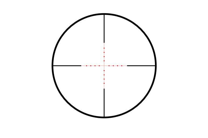 Hawke Vantage 4-12×50 Mil Dot IR