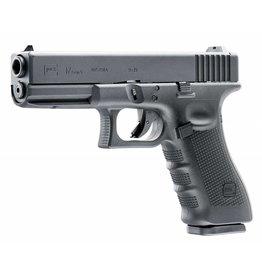 Glock 17  DX GBB – 1,0 Joule – schwarz inkl. Glock Waffenkoffer