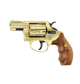 Walther S&W Chiefs Special Schreckschussrevolver Kal. 9 mm R.K - Gold