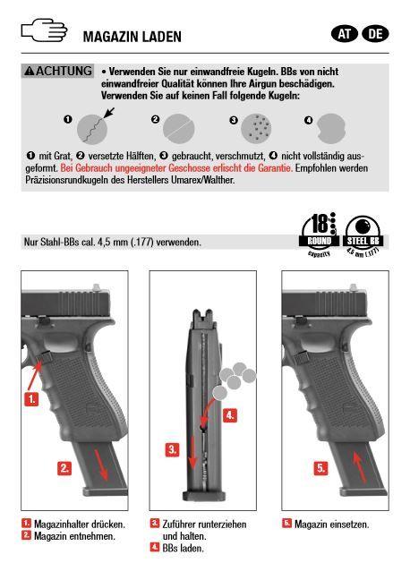 Glock Glock 17 Gen 4 - 4,5 mm ( 177) BB– black