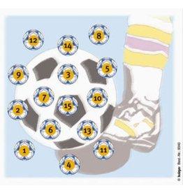 Umarex Glücksscheibe Fussball Zielscheiben - 100 Stück
