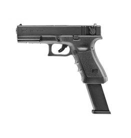Glock 18C spring pressure - 0,50 Joule - black