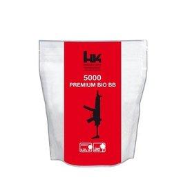 H&K Premium Battle Bio BB 0.20 grams - 5.000 pieces - white