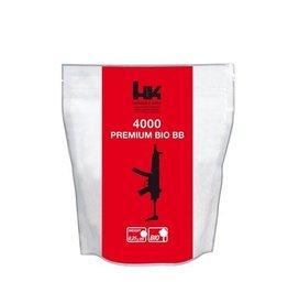 H&K Premium Battle Bio BB 0.25 grams - 4.000 pieces - white
