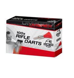 Umarex Federbolzen - Rifle Darts für AirGuns 4,5 mm (.177)  - 100 Stück
