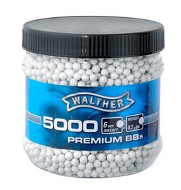 Walther Premium BB 0.20 grams - 5,000 pieces