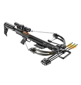 EK-Archery Compound Armbrust X-Bow Ballistic 370 - Set - schwarz