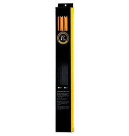 """EK-Archery Carbon Arrows 22 """"- 6 pieces"""