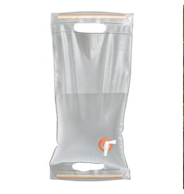 UST Brands Roll-Up Water Carrier 10L, Clear