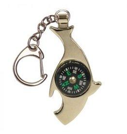 UST Brands Kompass Shark Multitool mit Flaschenöffner