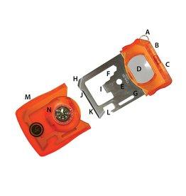 UST Brands Survival Card Tool - orange