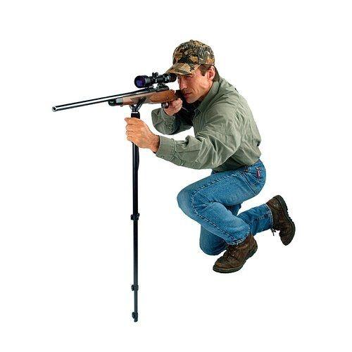 Allen Deluxe adjustable Shooting Stick / Monopod - 55 to 155cm