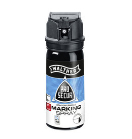 Walther ProSecur Marking Spray with UV marker blue