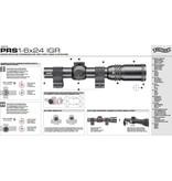 Walther Illuminated PRS 1-6x24 IGR