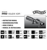 Walther PRS 1-6x24 IGR beleuchtet