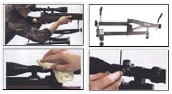Deben Pro Bench rest - Einschiessvorrichtung