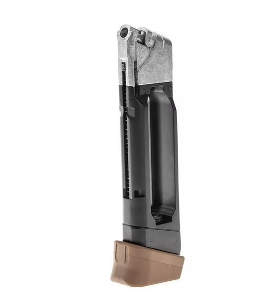 Glock 19X Co2 GBB Magazine - TAN