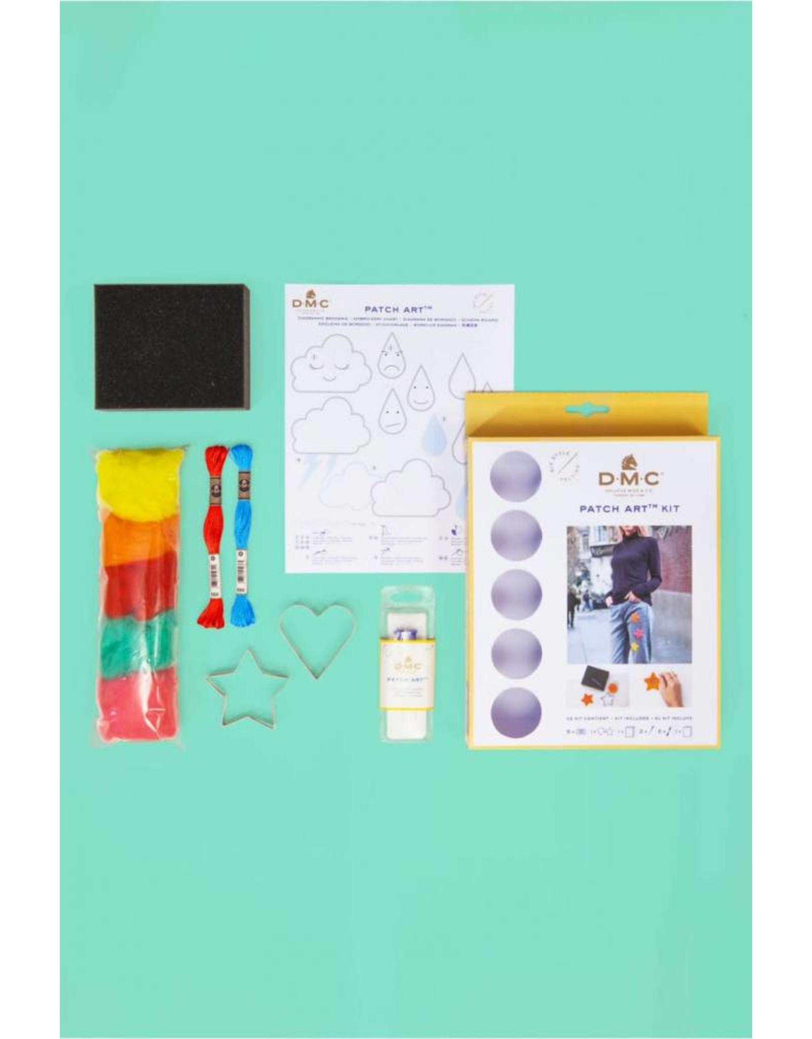 DMC Patch art kit hart & ster