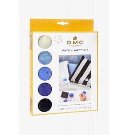 DMC Patch art kit Wolk & regen