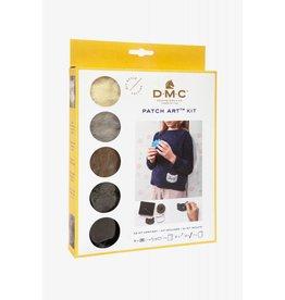 DMC Patch art kit hond & kat
