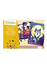 Avenue Mandarine Creatieve box Stickers natuur