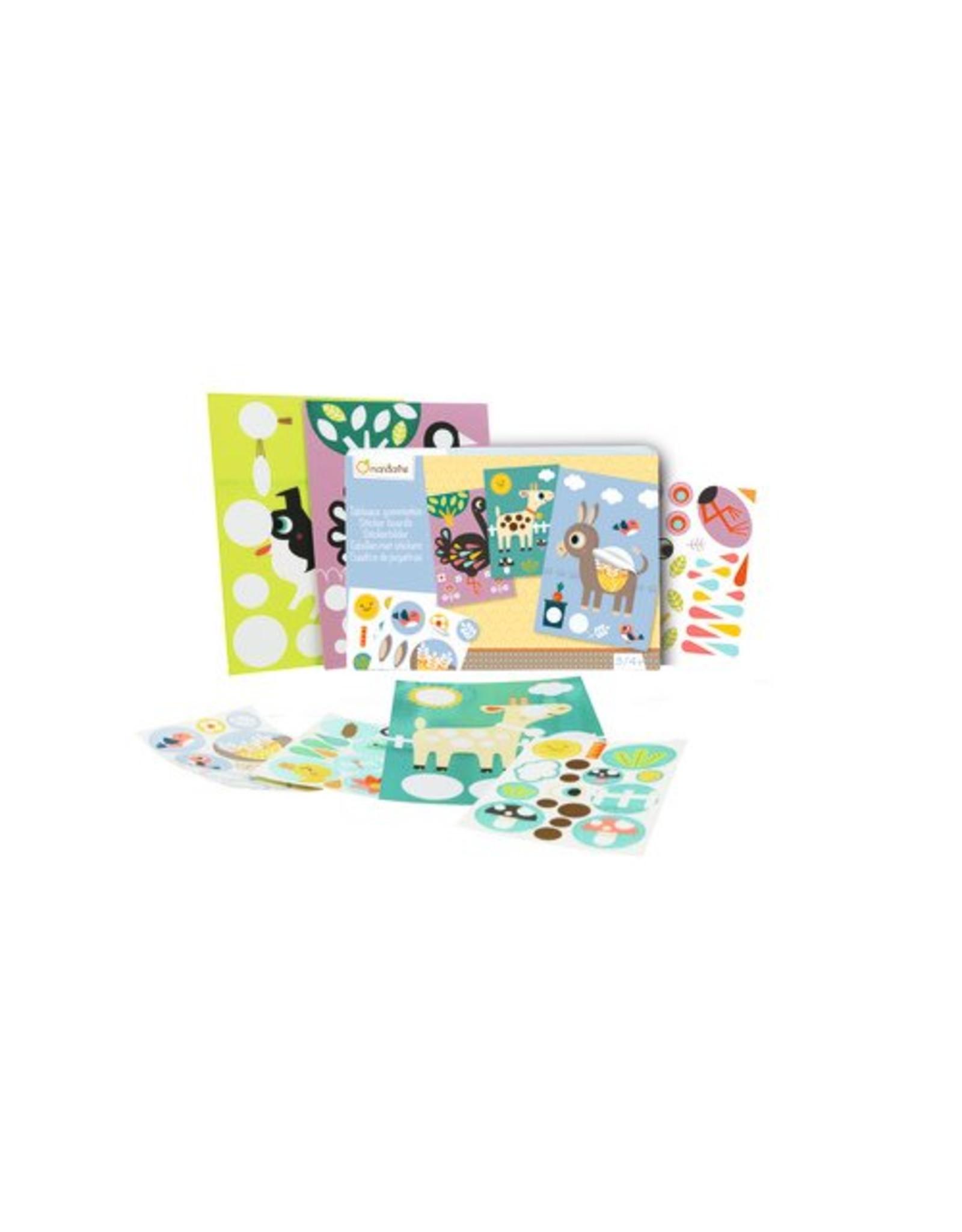 Avenue Mandarine Creatieve box stickers, huisdieren