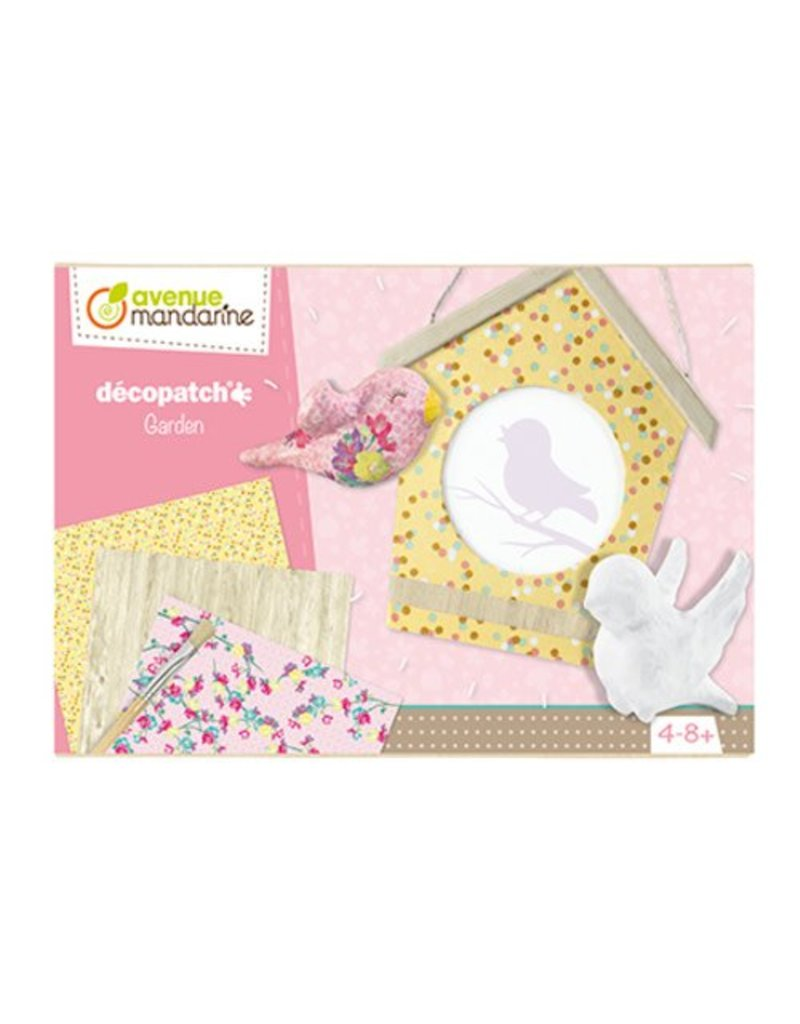 Avenue Mandarine Creatieve box Décopatch tuin