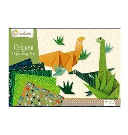 Avenue Mandarine Creatieve box origami dino