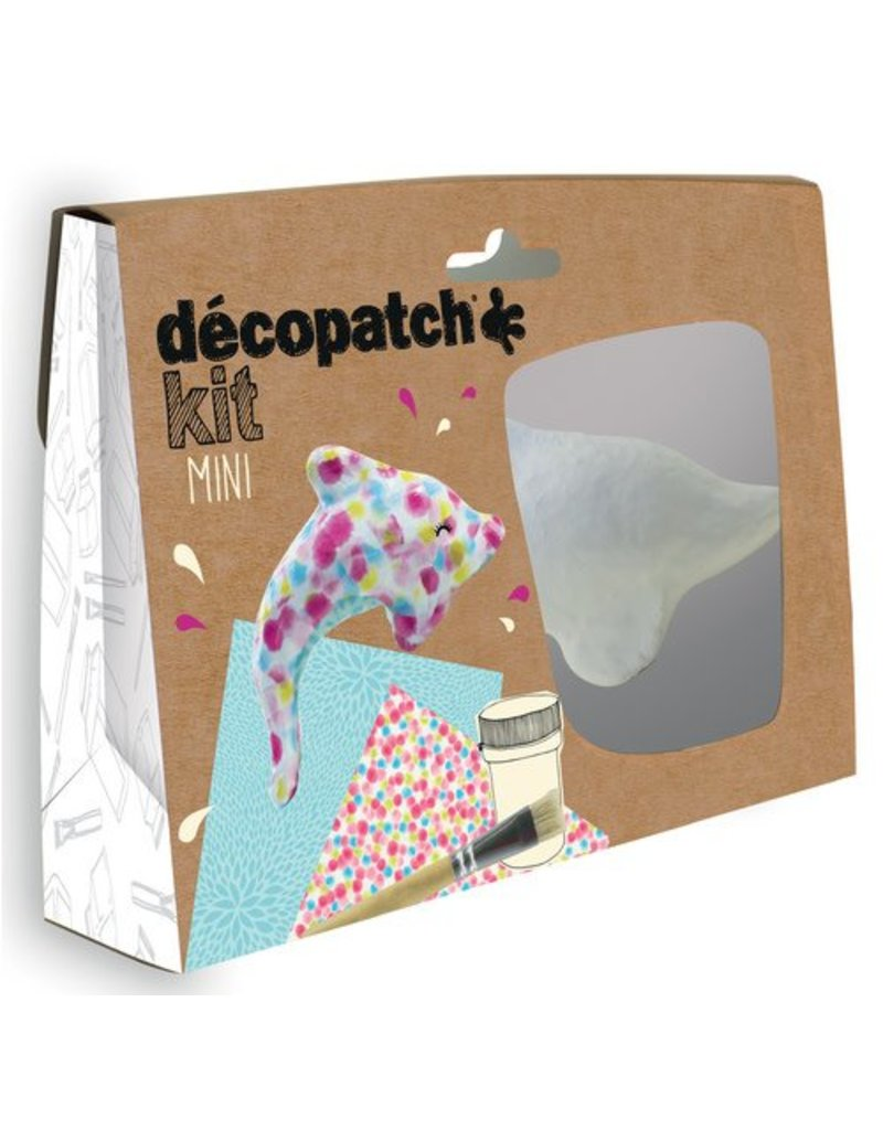 Decopatch Mini kit dolfijn décopatch