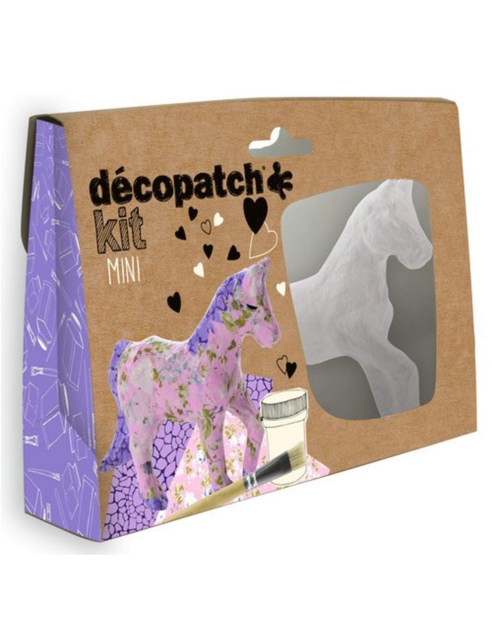 Decopatch Mini kit paard décopatch