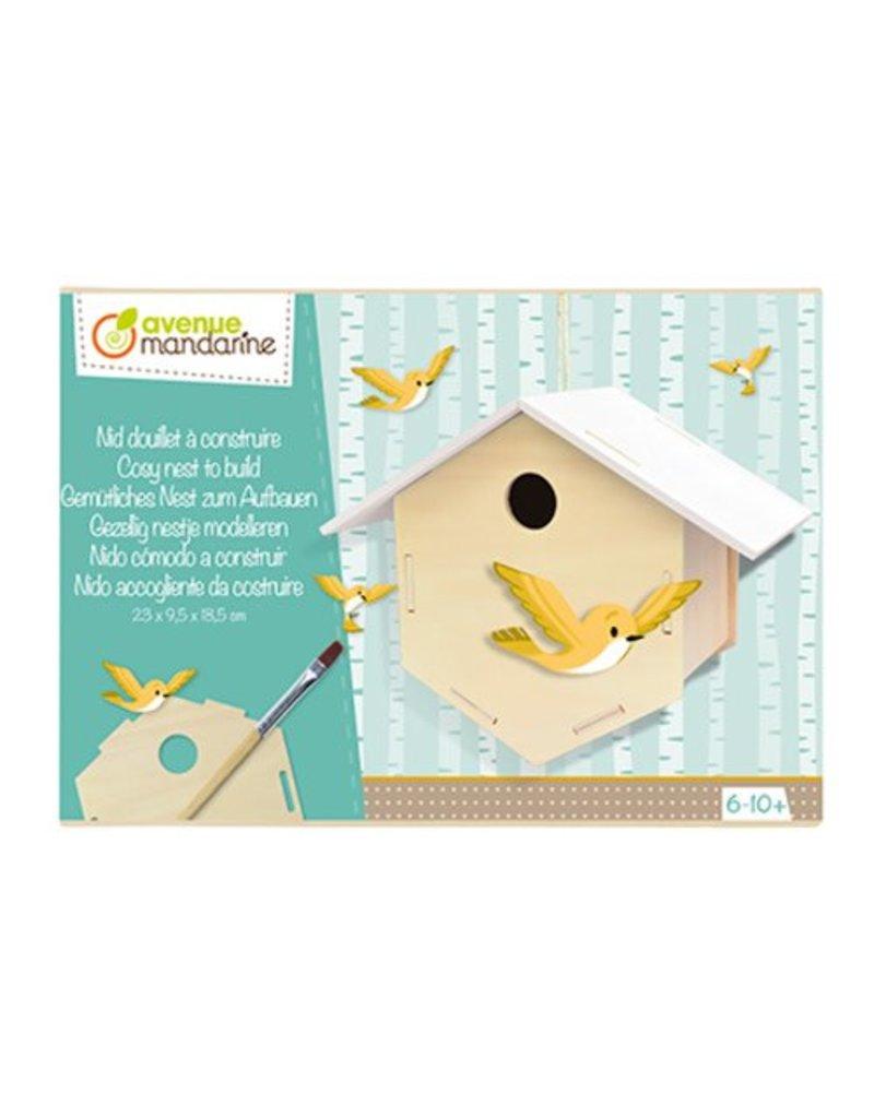 Avenue Mandarine Creatieve box Vogelhuisje