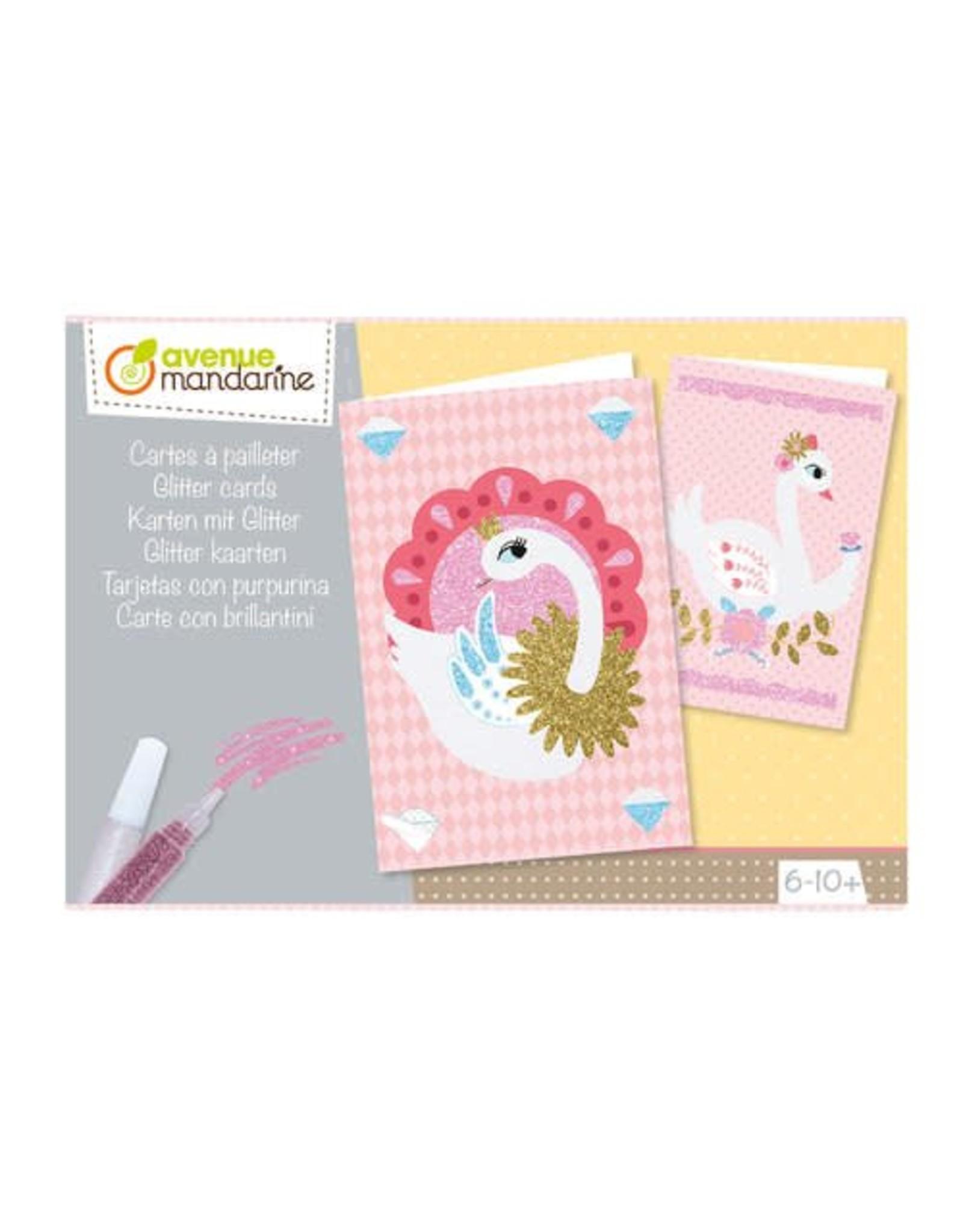 Avenue Mandarine Creatieve box glitter kaarten