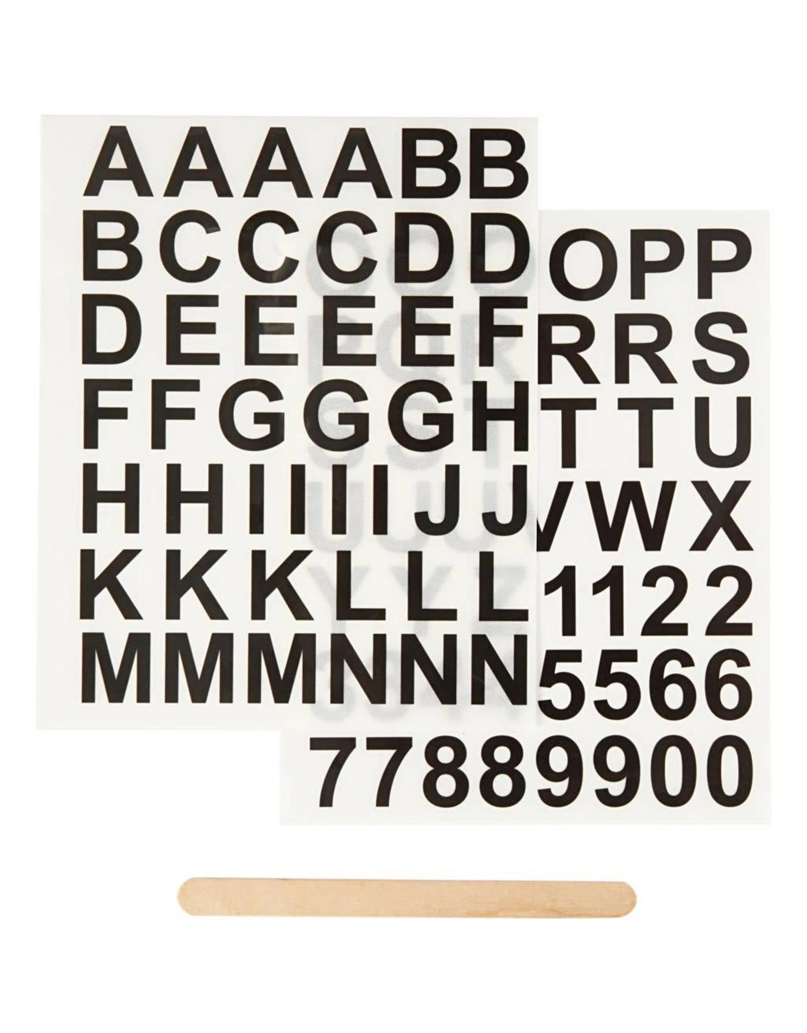 Creativ Company Rub-on stickers vel 12,2x15,3cm
