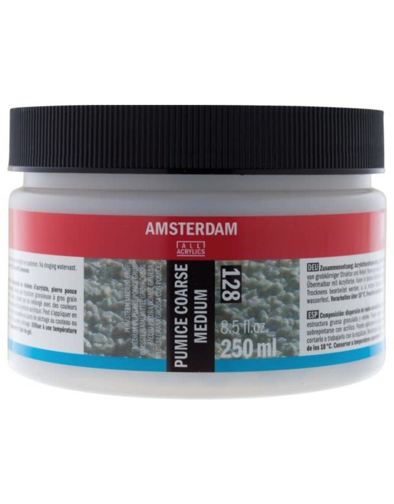 Amsterdam AAC puimsteen medium grof 128 - 250ml