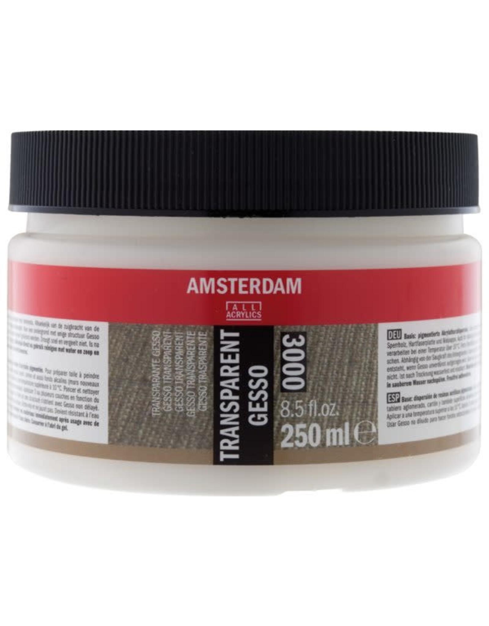 Amsterdam Gesso transparant 250ml