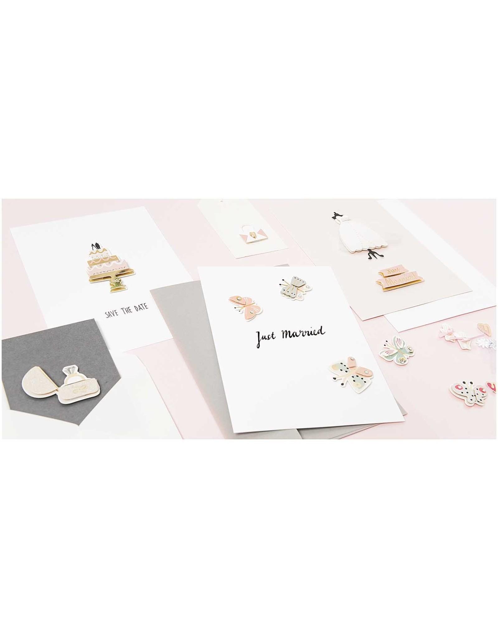 Rico Design 3d sticker bruidegom