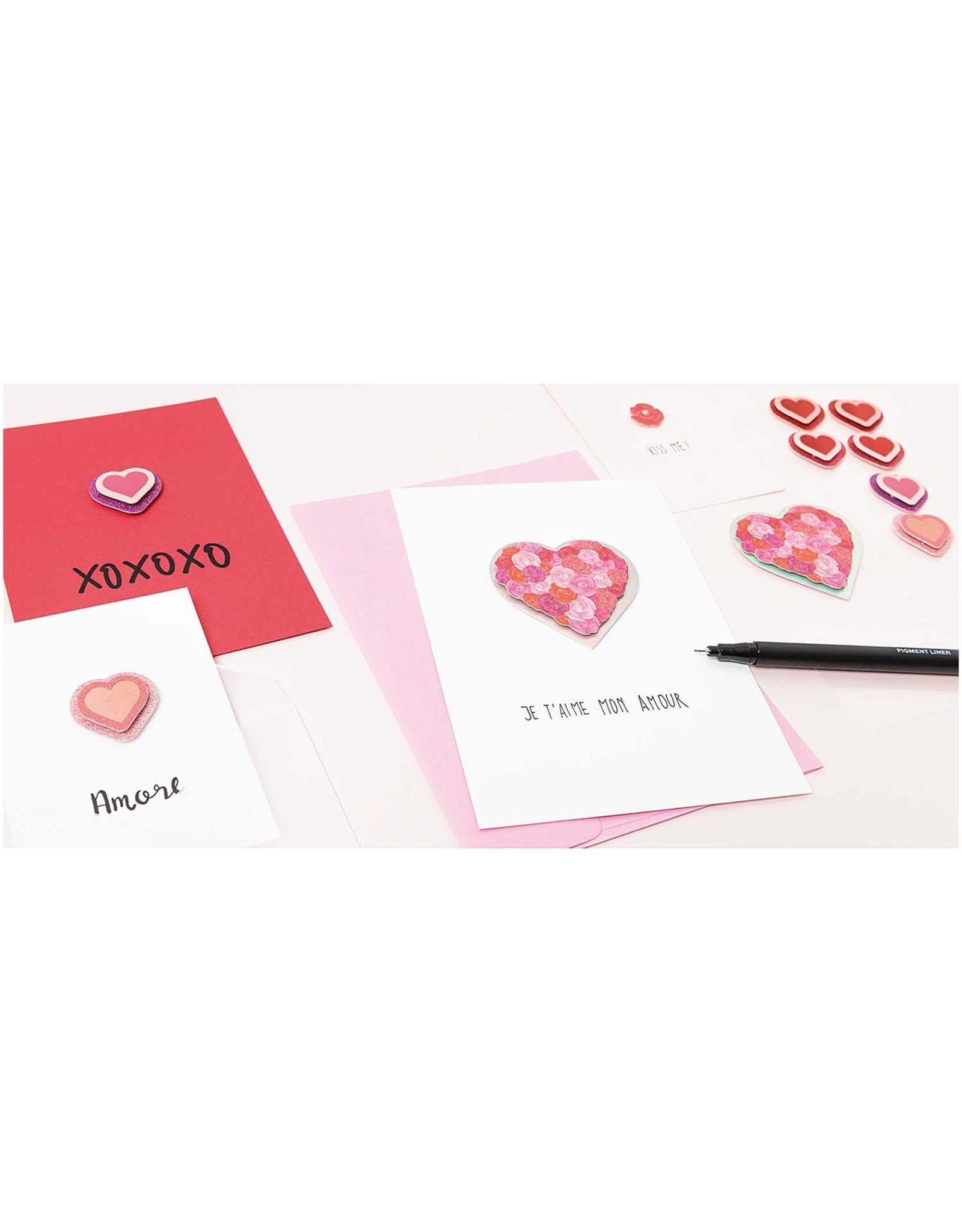 Rico Design 3d sticker geboorte meisje