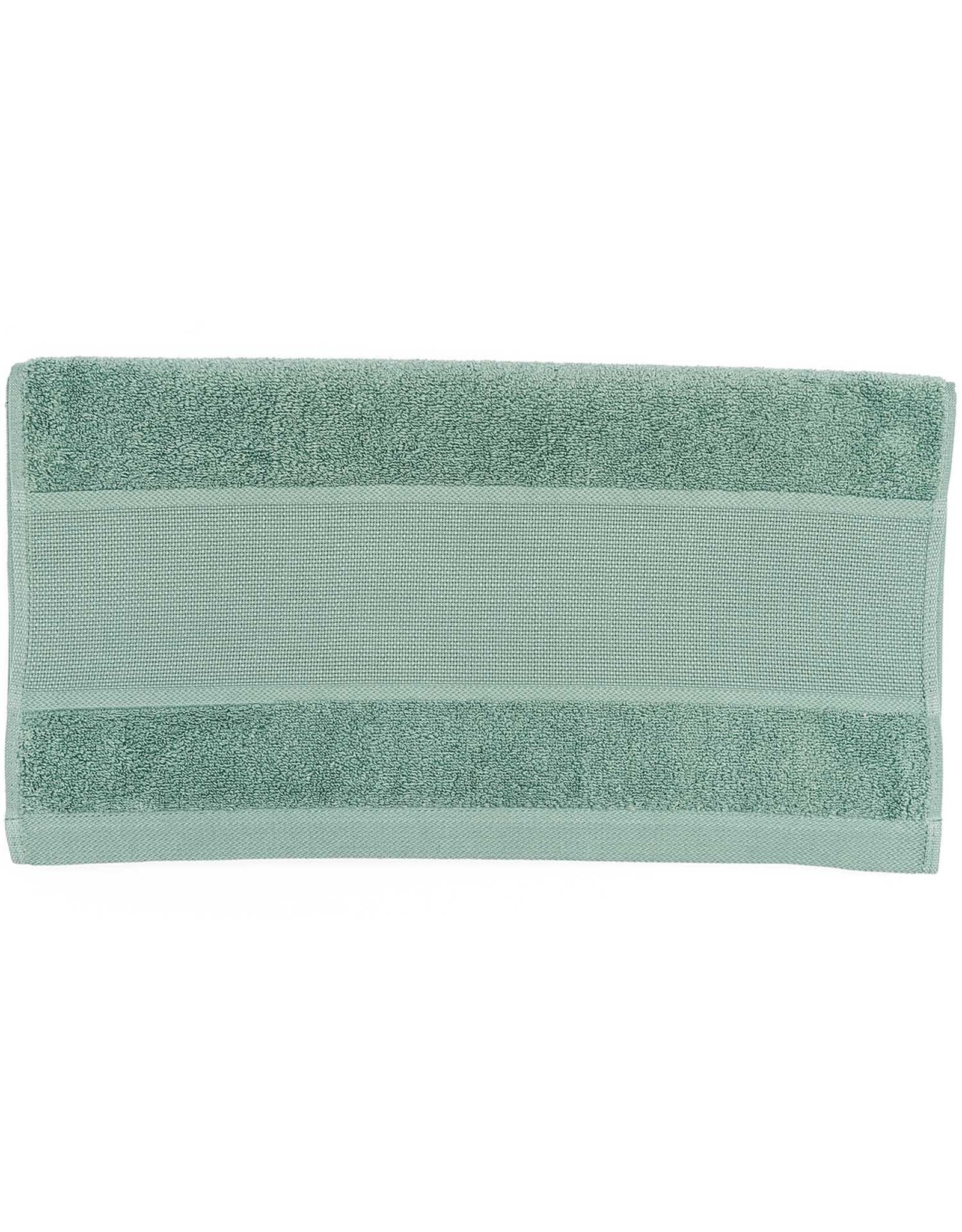 Rico Design Handdoek groen aida 50/100 cm