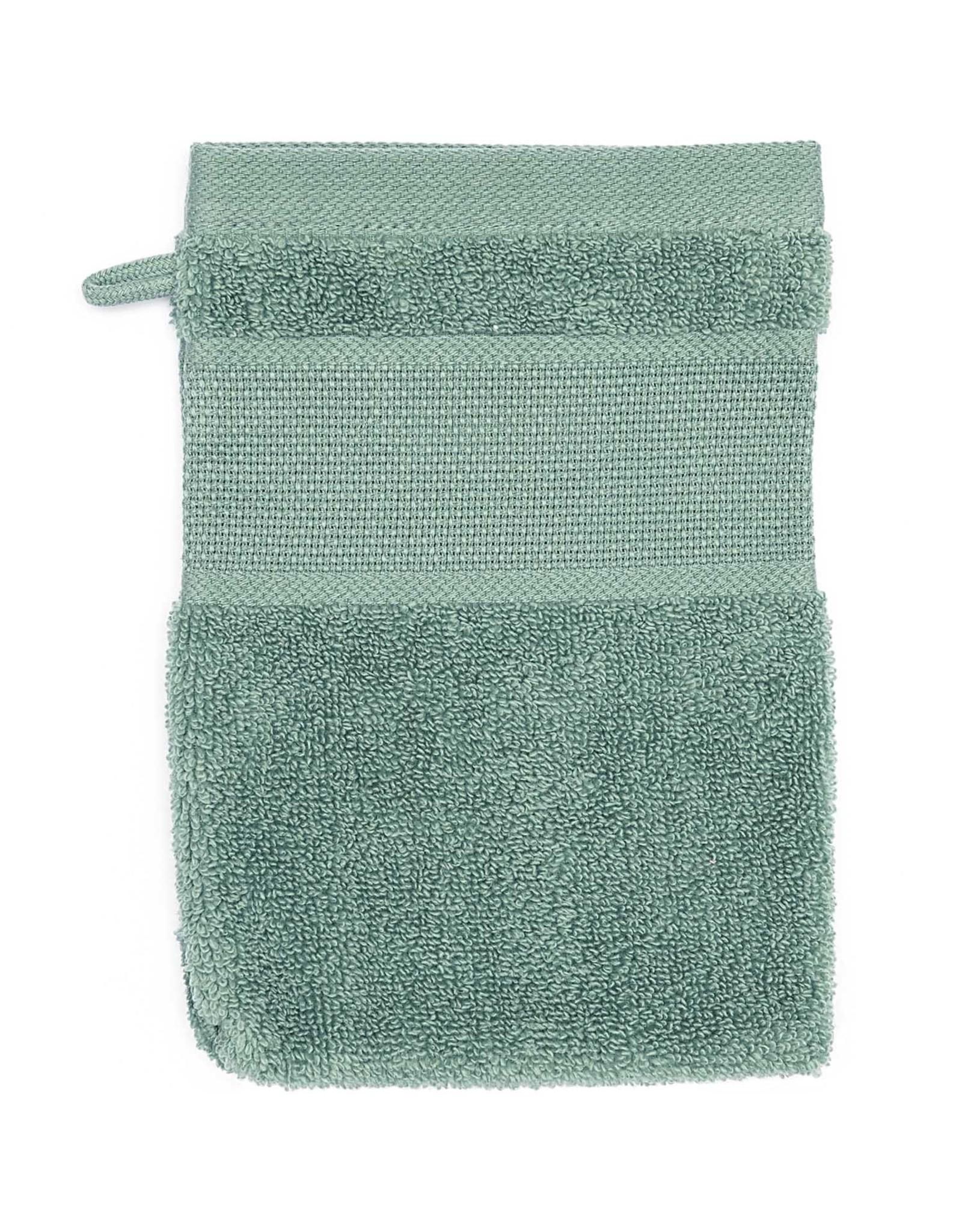 Rico Design Washandje groen aida 15/21 cm