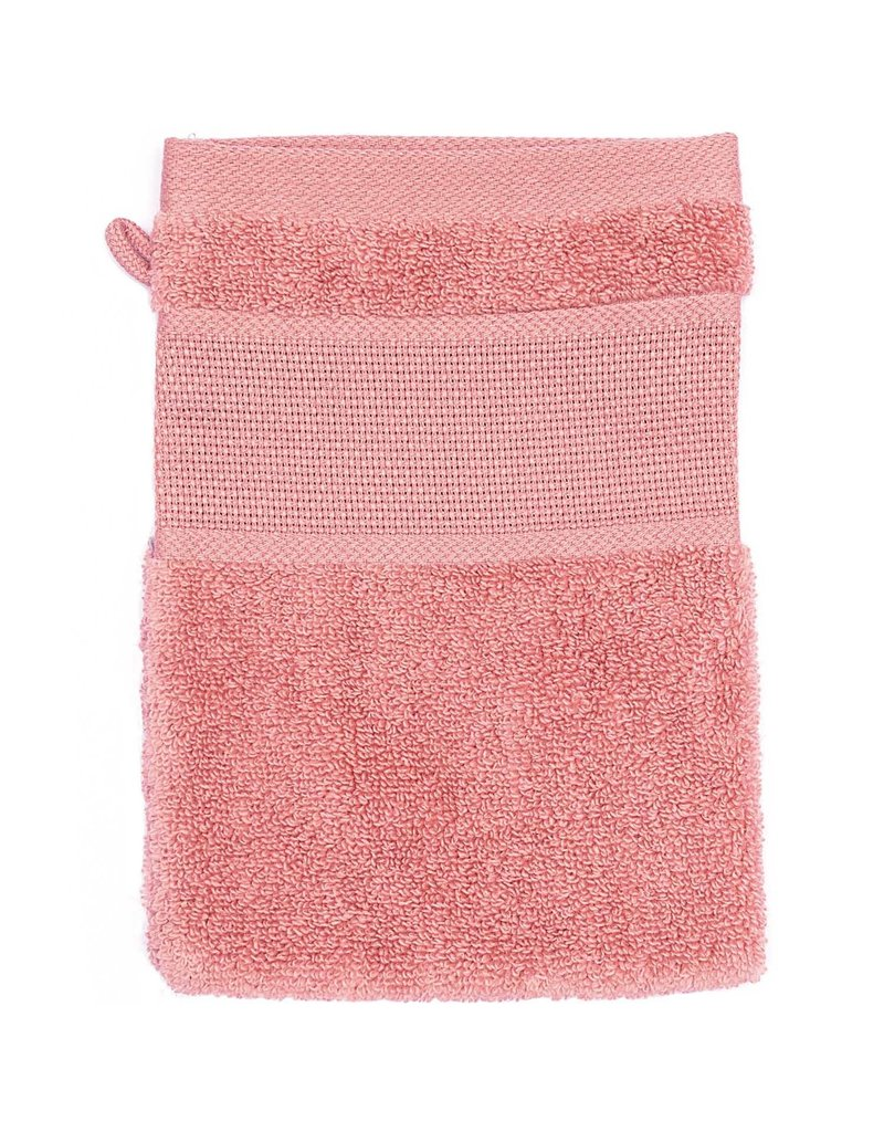 Rico Design Washandje roze aida 15/21 cm