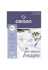 Canson Mix media imagine A5 200gr 50 vellen