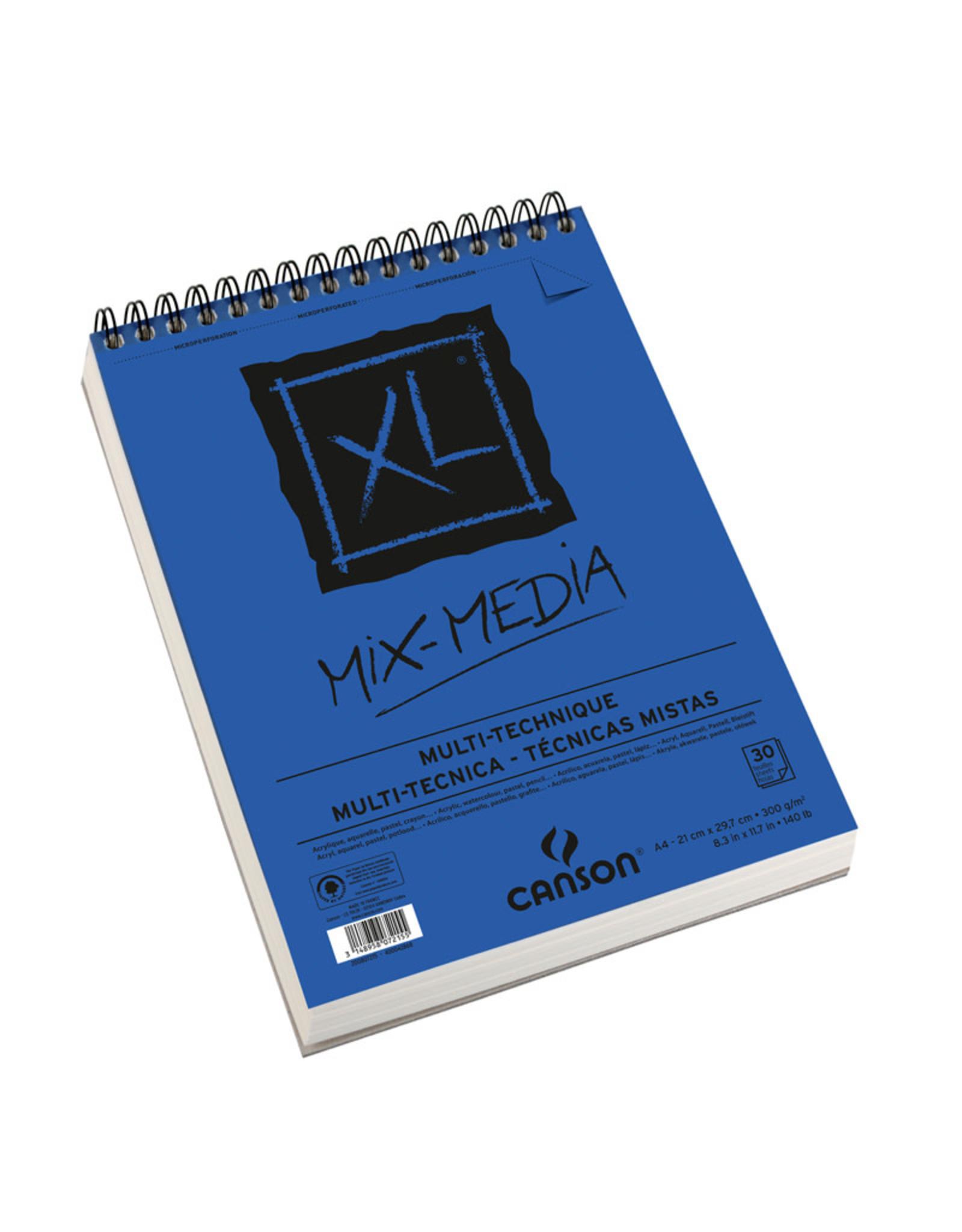 Canson Mix-media XL A4 300gr 25+5