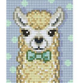 Pixel hobby Set lama wit